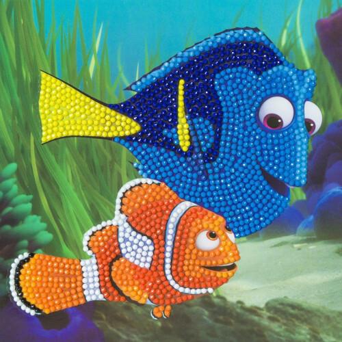 Crystal Art Disney Card Kit - Finding Nemo