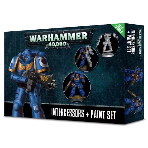 Warhammer 40,000 - Intercessors + Paint Set