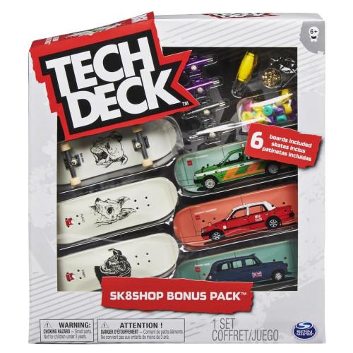Tech Deck - World Edition - Sk8shop Bonus Pack - DGK Dogs & Vehicles