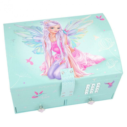 Depesche Fantasy Model Big Fairy Jewellery Box With Code and Sound