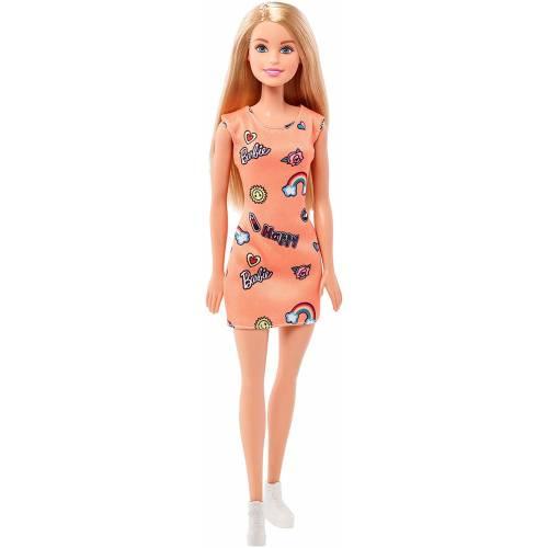 Barbie Doll - Orange Dress