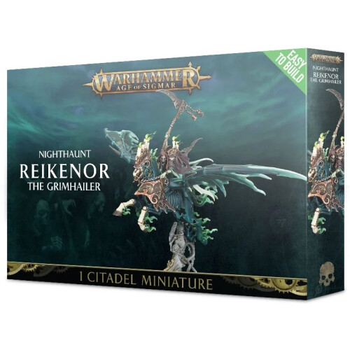 Warhammer Age of Sigmar - Nighthaunt Reikenor The Grimhailer