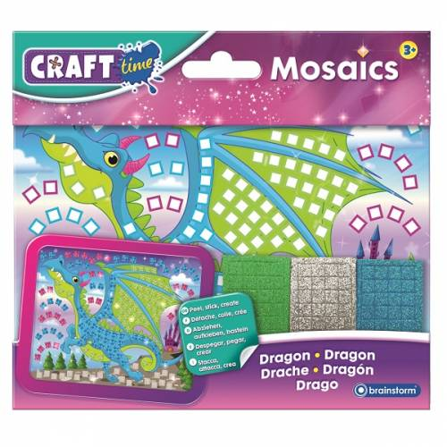 Craft Time Mosaics - Mini Dragon