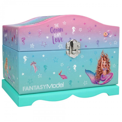 Depesche Fantasy Model Mermaid Jewellery Box With Light