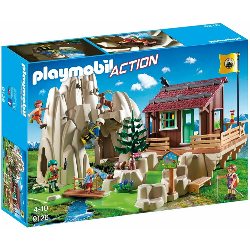 Playmobil 9126 Action Rock Climber with Cabin