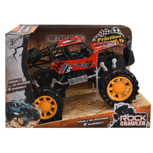 Rock Crawler 4x4 Metal Off Road Vehicle 20cm - Red