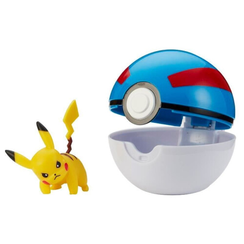 Pokemon Clip 'N' Go - Pikachu (Great Ball)