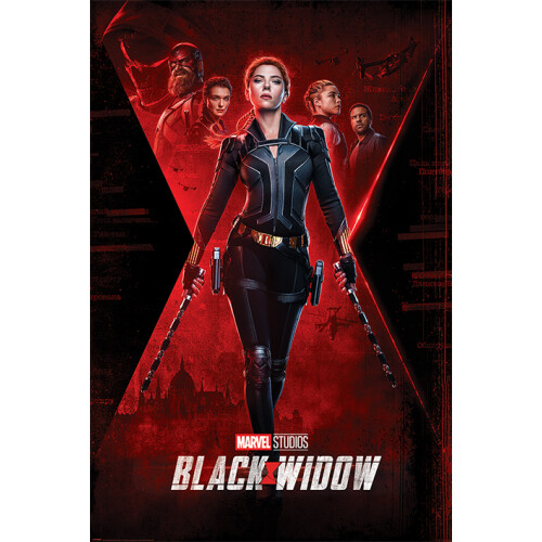 Maxi Posters - Black Widow (Unfinished Business)