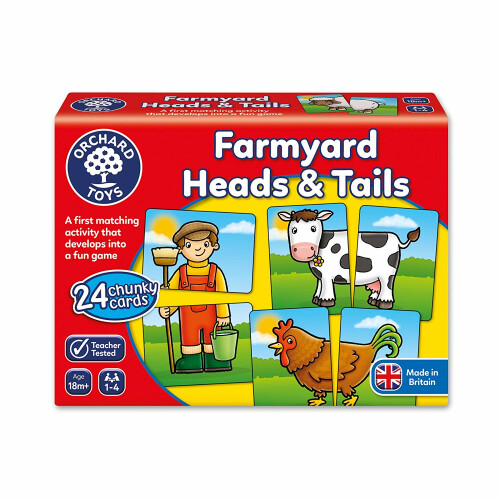 Orchard Farmyard Heads and Tails
