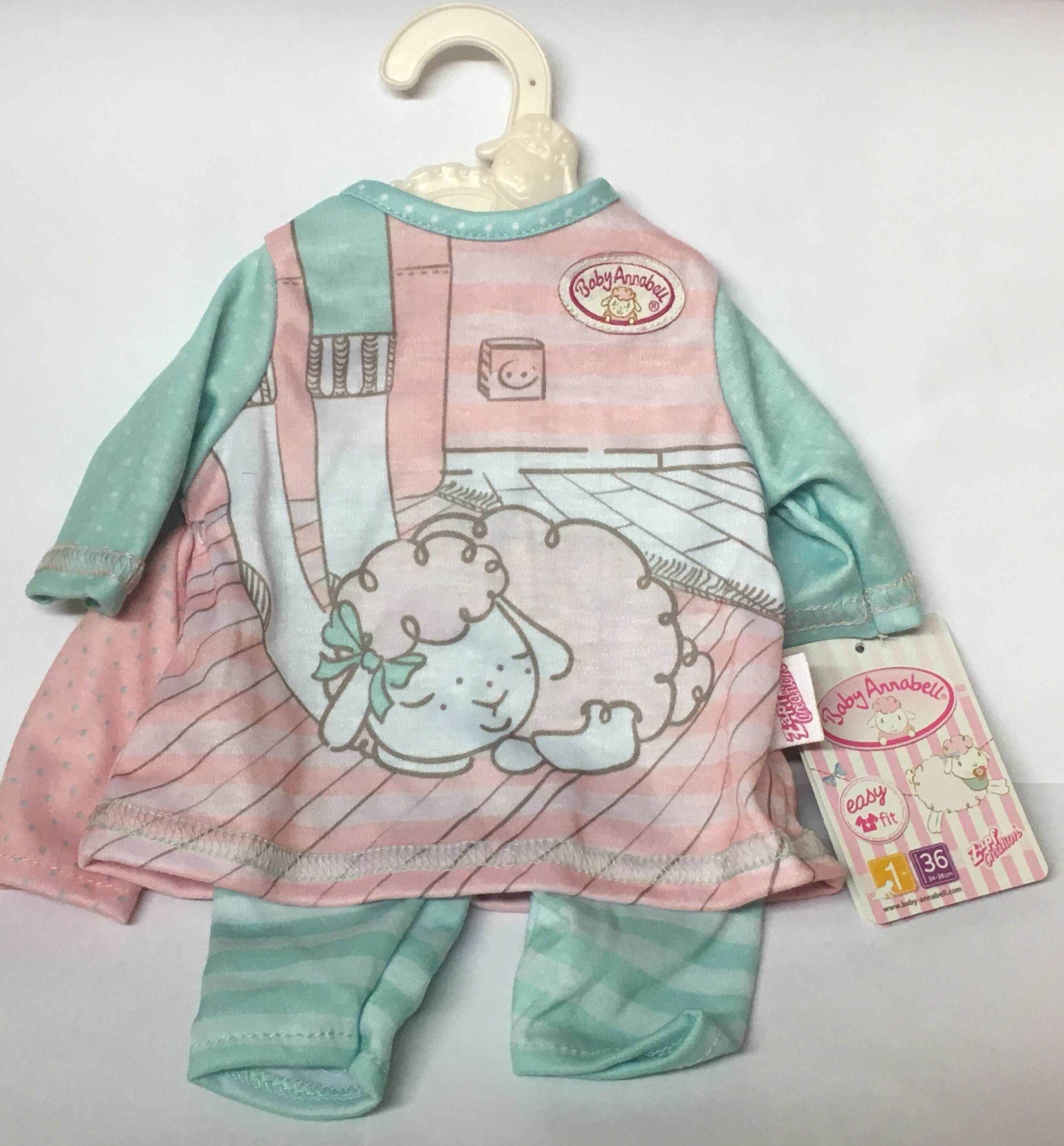 Baby Annabell Clothing - Sleeping Sheep Outfit | Toys n Tuck