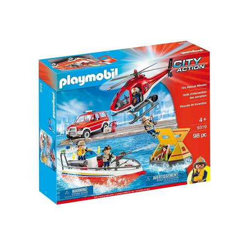 Playmobil 9319 Fire Rescue Mission