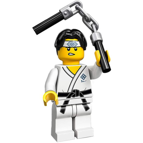Lego 71024 Minifigure Series 20 Martial Arts Boy
