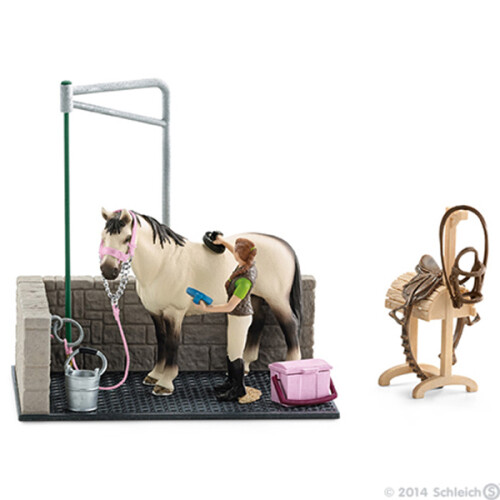 Schleich Horse Club 42104 Horse Wash Area