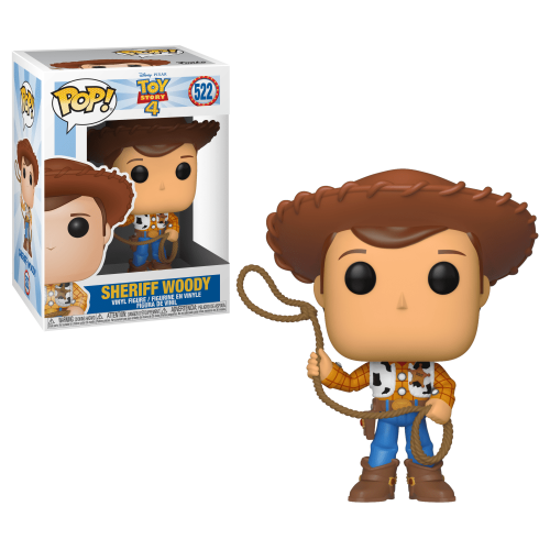 Funko Pop Vinyl Sheriff Woody 522