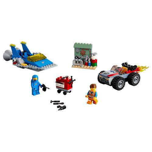 Lego 70821 Lego Movie 2 Emmet and Benny's 'Build and Fix' Workshop!