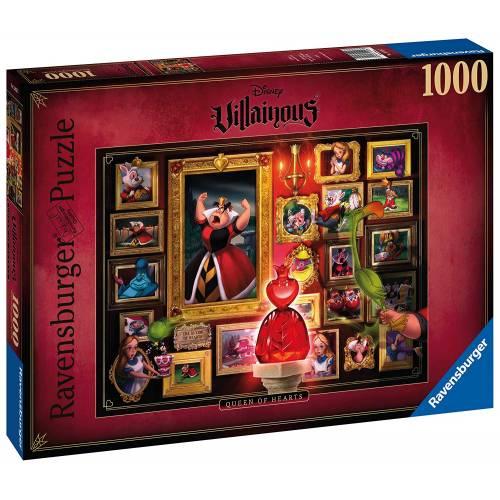 Ravensburger Disney Villainous 1000pc Puzzle - Queen of Hearts