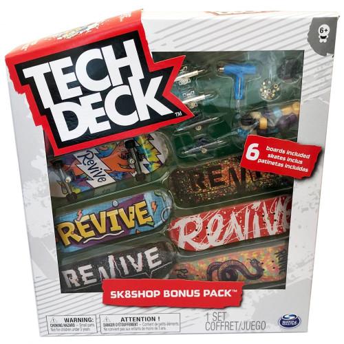 Tech Deck - World Edition - Sk8shop Bonus Pack - Revive