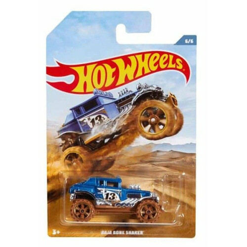 Hot Wheels Off Road Trucks - Baja Bone Shaker