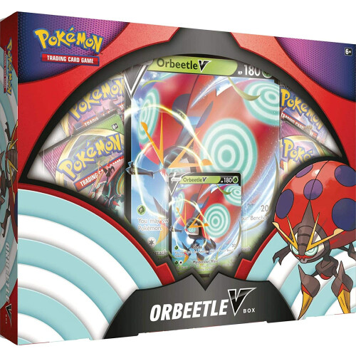 Pokemon TCG Orbeetle V Box