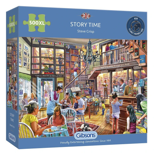 Gibsons Story Time 500pc XL Puzzle