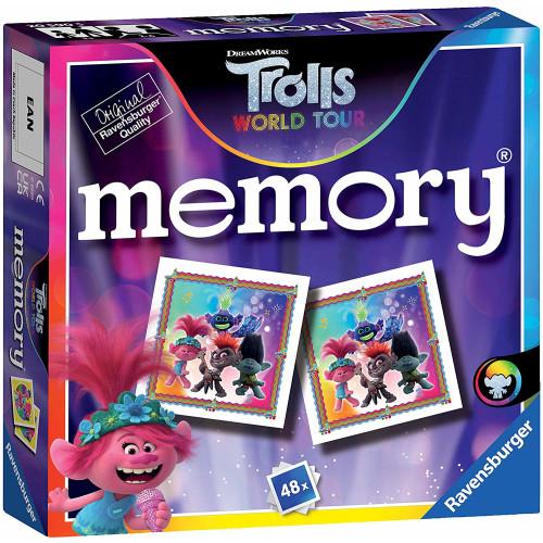 Ravensburger Mini Memory Game Trolls World Tour