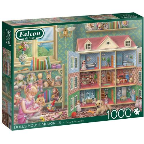 Falcon de luxe Dolls House Memories 1000pc Jigsaw Puzzle