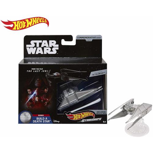 Hot Wheels Star Wars Commemorative Series - Kylo Ren's Tie Silencer
