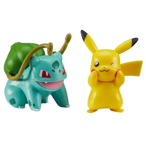 Pokemon Battle Figure Pack - Pikachu Bulbasaur