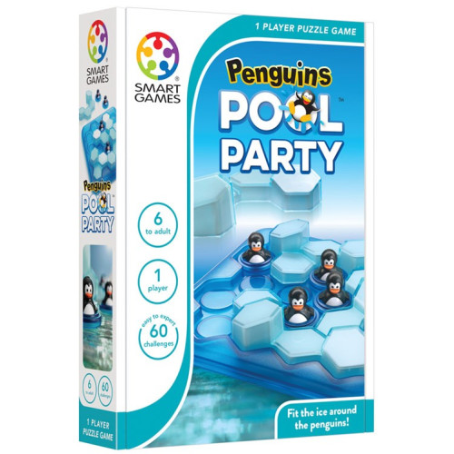 Puzzle Game - Penguins Pool Party