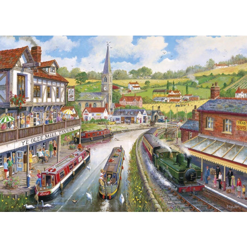 Gibsons Ye Olde Mill Tavern 1000pc Puzzle