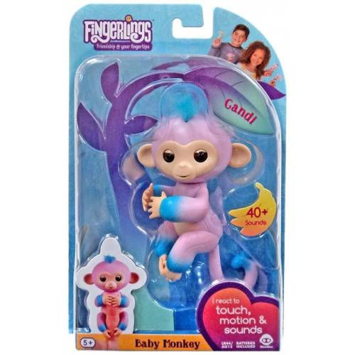Fingerlings Baby Monkey - Candi