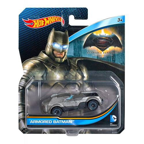 Hot Wheels DC Comics Character Vehicles - Armored Batman