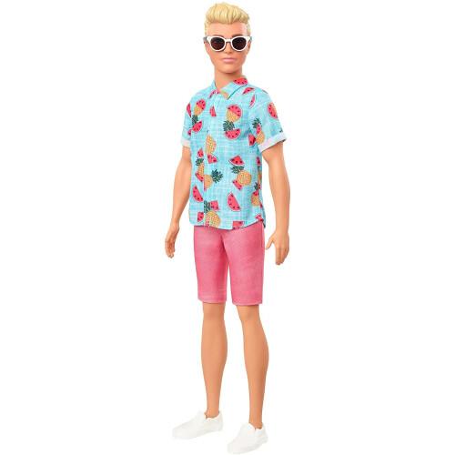 Barbie Fashionistas Ken Zip Case 152
