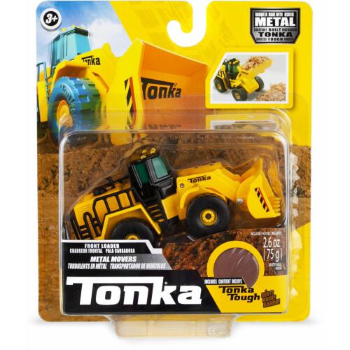 Tonka Metal Movers with Tonka Tough Dirt - Front Loader