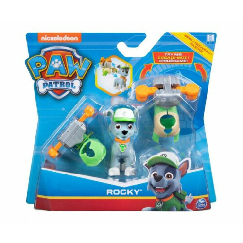 Paw Patrol Action Pup Pack - Rocky