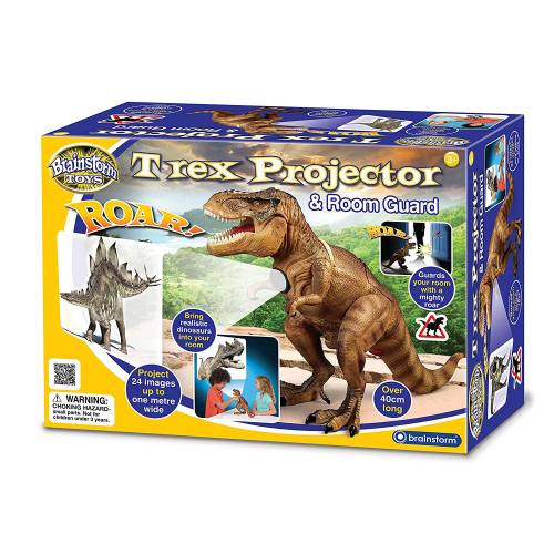 Brainstorm Toys T-Rex Projector & Room Guard