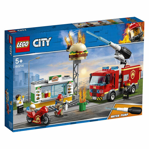 Lego 60214 City Burger Bar Fire Rescue