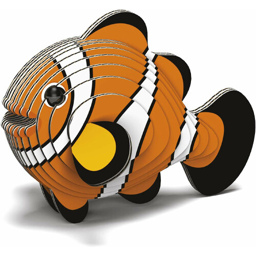 Eugy - 3D Model Craft Kit - Clownfish