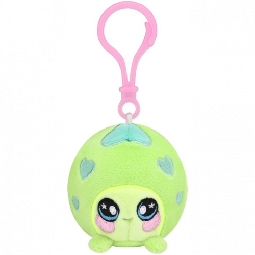 Squeezamals Series 2 Clip on Plush - Green Turtle
