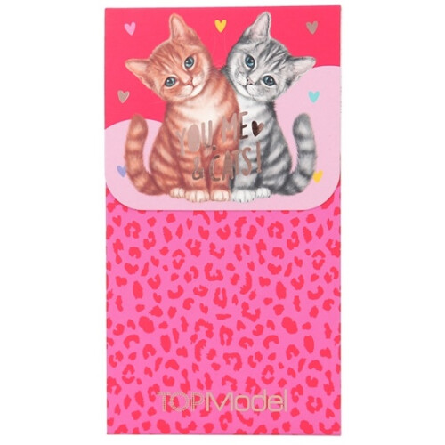 Depesche Top Model Notepad with Magnet Seal - Cats