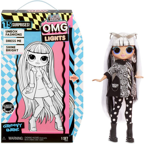 L.O.L. Surprise! O.M.G. Lights Fashion Doll - Groovy Babe