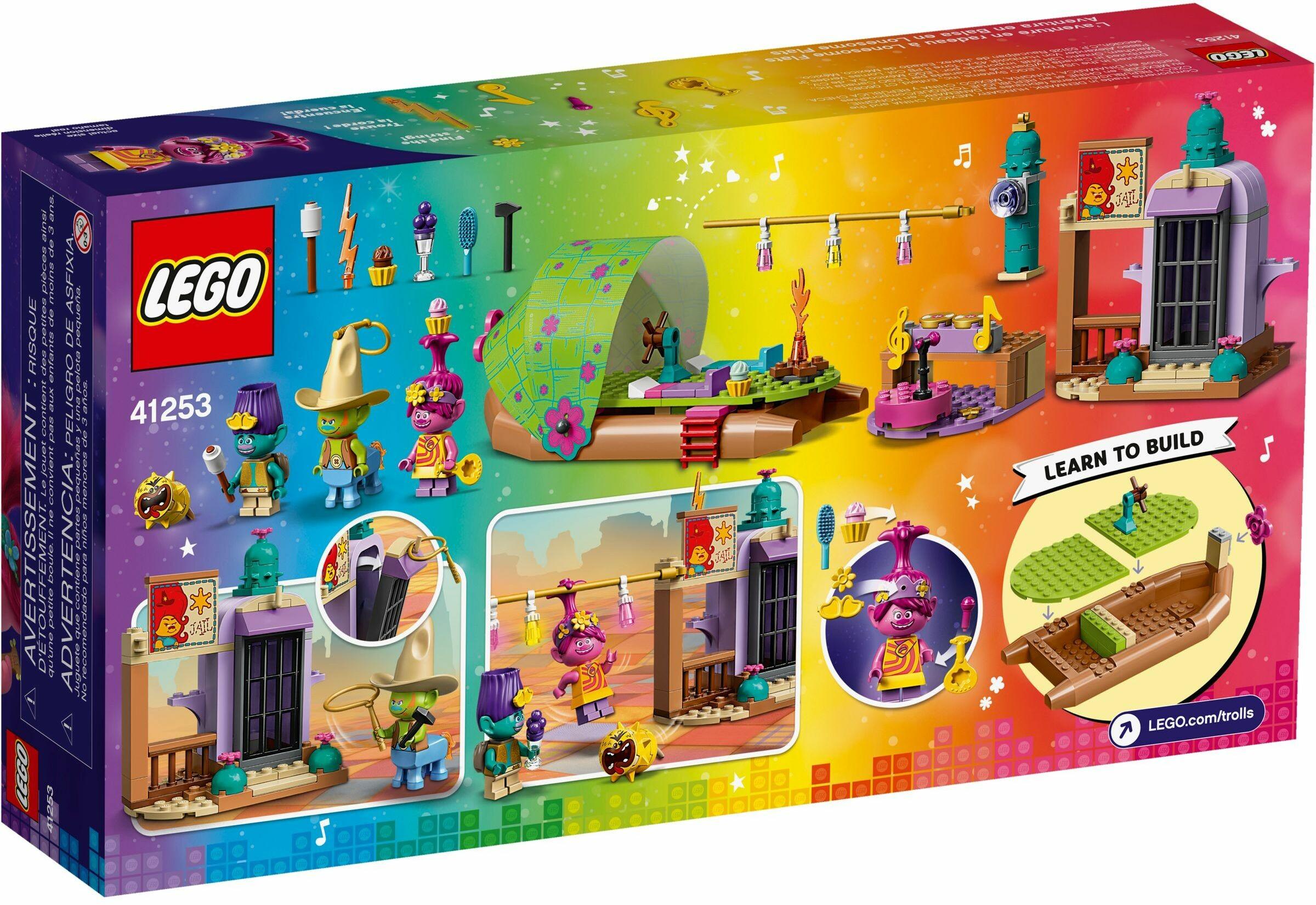 Lego 41253 Trolls World Tour Lonesome Flats Raft Adventure Toys