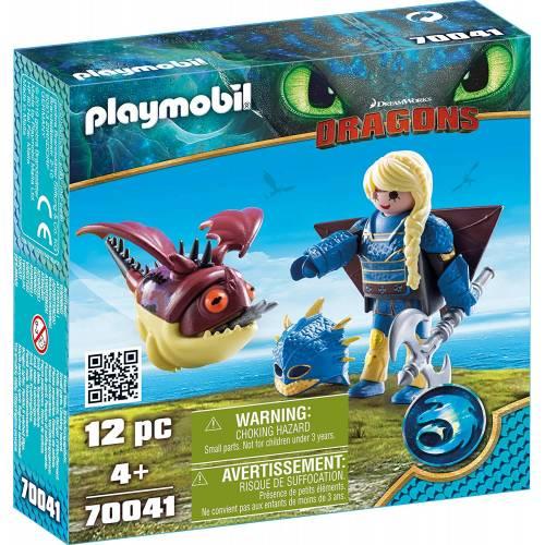 Playmobil 70041 Dragons Astrid with Hobgobbler