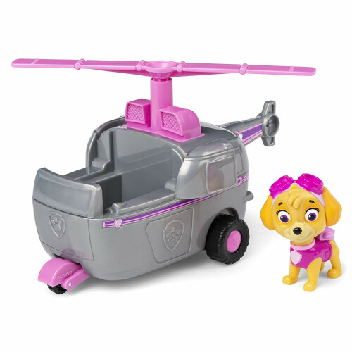 Paw Patrol Basic Vehicle with Pup - Skye Helicopter