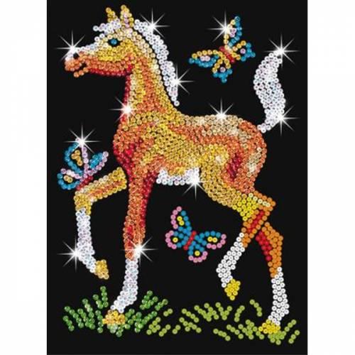 Sequin Art Ltd. Sequin Art Red Freyer the Foal 0905