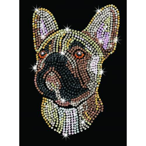 Sequin Art Limited. Sequin Art Blue French Bulldog 1712