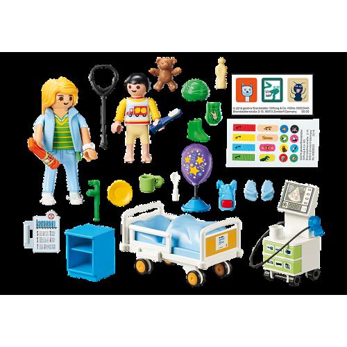 Playmobil 70192 City Life Children's Hospital Room