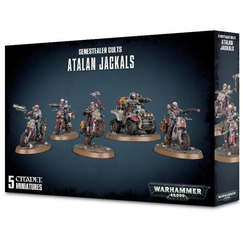 Warhammer 40,000 - Genestealer Cults Atalan Jackals