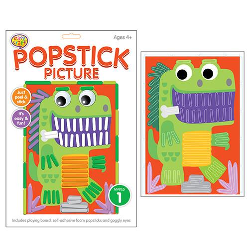 Kreative Kids - Popstick Picture Dinosaur