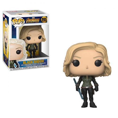 Funko Pop Vinyl Black Widow 295